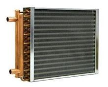 Water to Air Heat Exchanger - 18 Inch x 18 Inch - HTL1818 - C1818 Side View