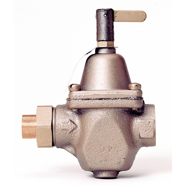 Watts Boiler Water Feed Valve 1 2 Inch With Sweat