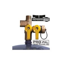 Webstone Pro Pal Expansion Tank Tee Ball Valve - 1/2 FIP by FIP X Hose Expansion Tank - 41672 Example of Installation