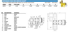 Webstone Pro Pal Expansion Tank Tee Ball Valve - 1/2 FIP by FIP X Hose Expansion Tank - 41672 Techs
