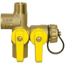 Webstone Pro Pal Expansion Tank Tee Ball Valve - 1/2 FIP by FIP X Hose Expansion Tank - 41672