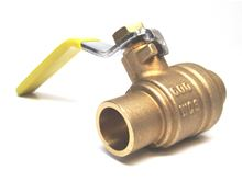 Webstone Ball Valve 1 inch with Sweat Connection - 51704. Hydronic Heating and Systems