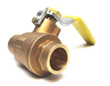 Webstone Ball Valve 1 inch with Sweat Connection - 51704. Hydronic Heating and Systems 600 WOG