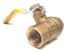 Webstone 41706 Ball Valve 1 1/2 inch with Threaded Connection - 41706. Hydronic Heating Applications