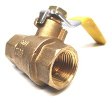 Webstone 41704 Ball Valve 1 inch with Threaded Connection - 41704. Hydronic Heating Systems