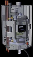 WestingHouse Condensing Wall Hung Gas Boiler with 80000 BTU in Liquid Propane/Natural Gas - WBRNG080W Exploded Inside View