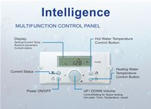 Westinghouse Condensing Wall Hung Tankless Water Heater with 199000 btu and Liquid Propane - WGRTLP199 Control Panel