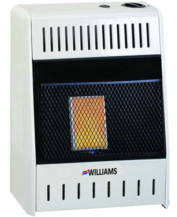 Williams Vent Free 1096513 Ventless Infrared Gas Heater