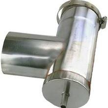 Z Flex NovaVent Vertical Condensation Drain Tee 2NVVDT4