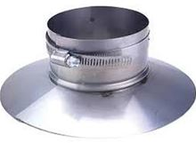 Z Flex Novavent 2nvsc4 Stainless 4 Inch Storm Collar Vent Pipe