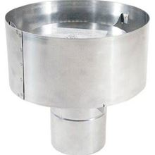 Z Flex Novavent 2nvwc4 Stainless 4 Inch Rain Cap Vent Pipe