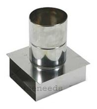 Zflex Novavent 2nvtb4 Stainless 4 Inch Termination Coupling