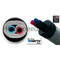 Z Supply eZe Flex Insulated 1 inch Aluminum Pex Pipe - 246 to 250 Foot Roll - eZe FLEX ALUM