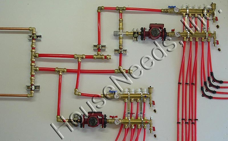 Primary Loop Secondary Loop Manifold Kits With High And