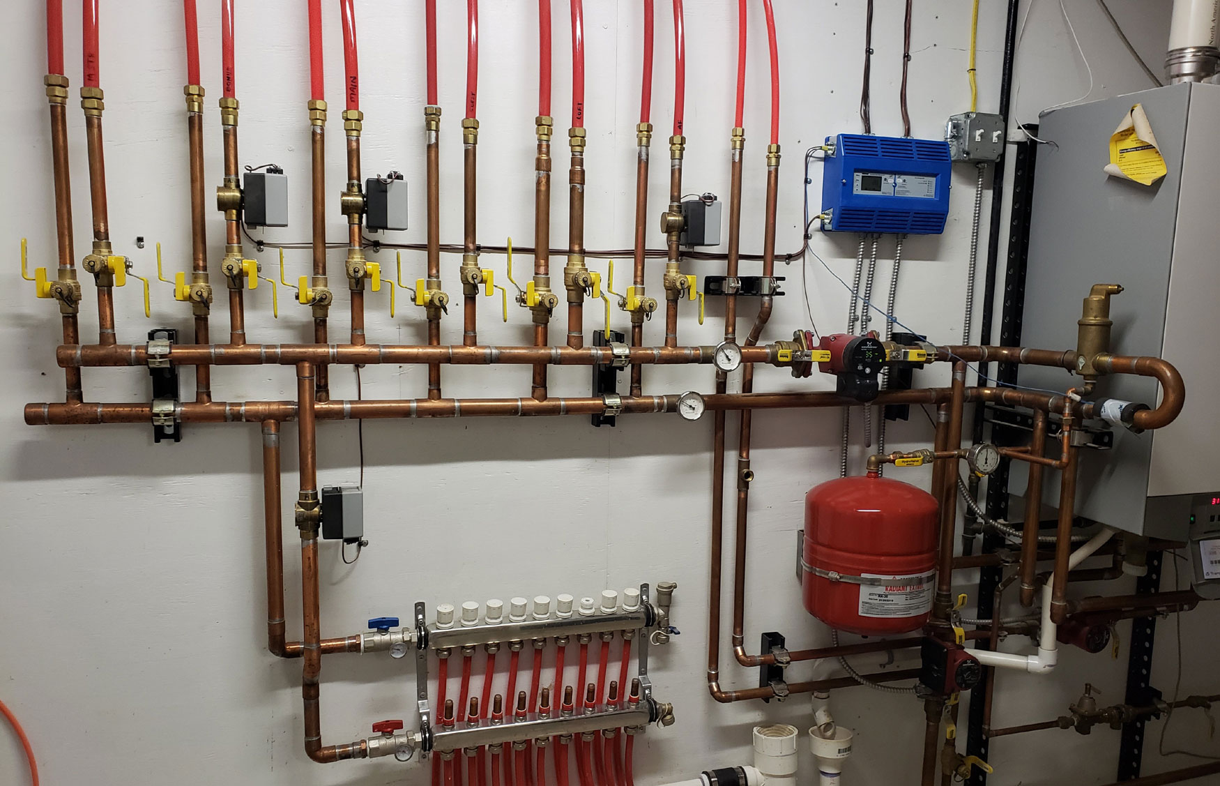 Heating with Zone Valves and Circulating Pumps