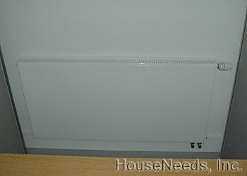 The Installed Myson Hydronic Radiators System