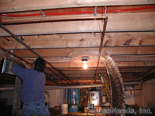 PEX Tubing Foil Insulation and Slab Shield