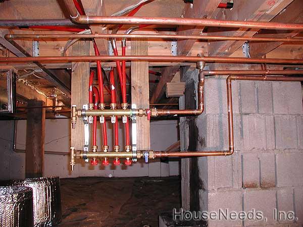 Pex Tubing Radiant Heating Manifolds